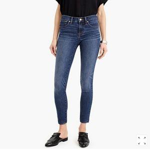 "J. Crew 8"" Toothpick Jeans Size 27"